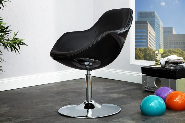 Design Sessel SPEEDCHAIR schwarz total