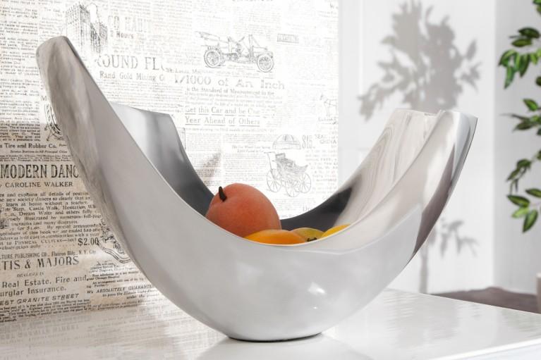 Design Accessoire Metall-Aluminium Legierung Schale ABSTRACT 35 cm