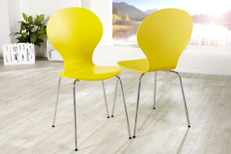Design Stuhl FORM gelb
