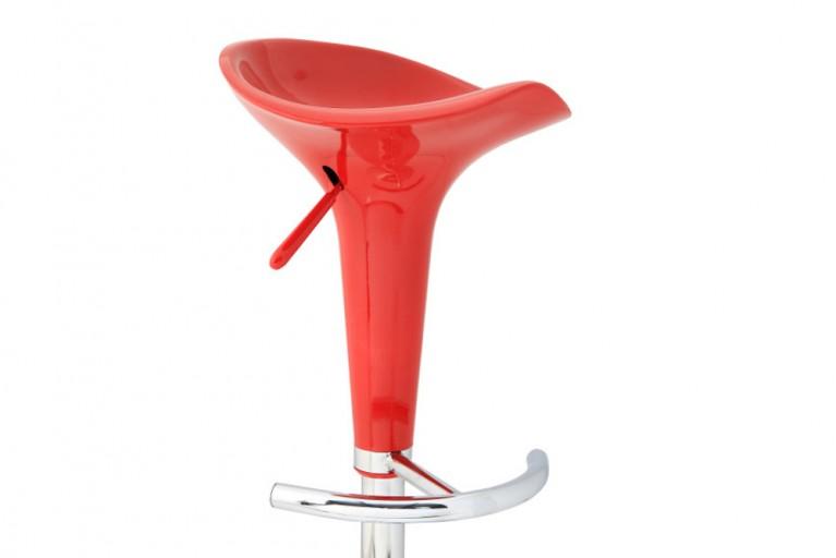 Design Barhocker POP rot mit Hebel