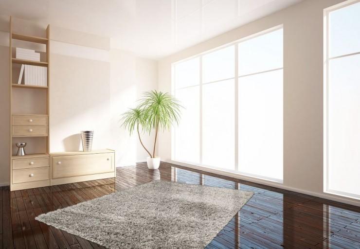 Design Hochflor Teppich SHAGGY silber 160x230cm