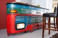 Original LKW Bartresen 105cm Hausbar inkl. Lichtanlage Oldtimer