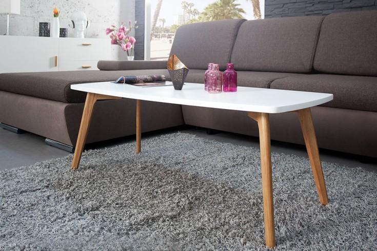 retro couchtisch scandinavia meisterst ck 110cm wei echt eiche skandinavisch riess. Black Bedroom Furniture Sets. Home Design Ideas