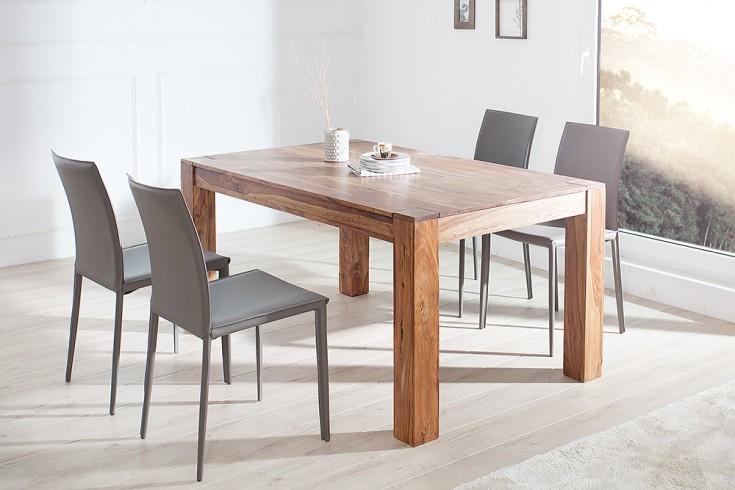 exklusiver design stuhl milano echt leder grau riess. Black Bedroom Furniture Sets. Home Design Ideas