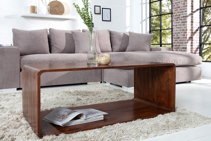 massiver cube couchtisch monsoon 100cm akazie markant. Black Bedroom Furniture Sets. Home Design Ideas