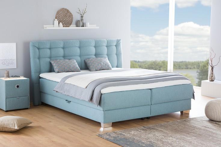 elegantes boxspringbett selection 180x200 aqua bettkasten inkl topper und kissen riess. Black Bedroom Furniture Sets. Home Design Ideas