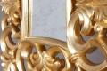 Opulenter Barock Spiegel VENICE gold antik Wandspiegel 75cm