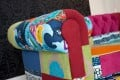 Design Chesterfield Sofa Patchwork PARADISE bunt Couch