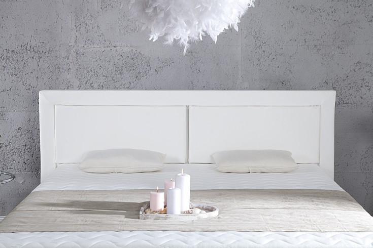 modernes boxspringbett queens 160x200 cm wei inkl matratze und topper riess. Black Bedroom Furniture Sets. Home Design Ideas