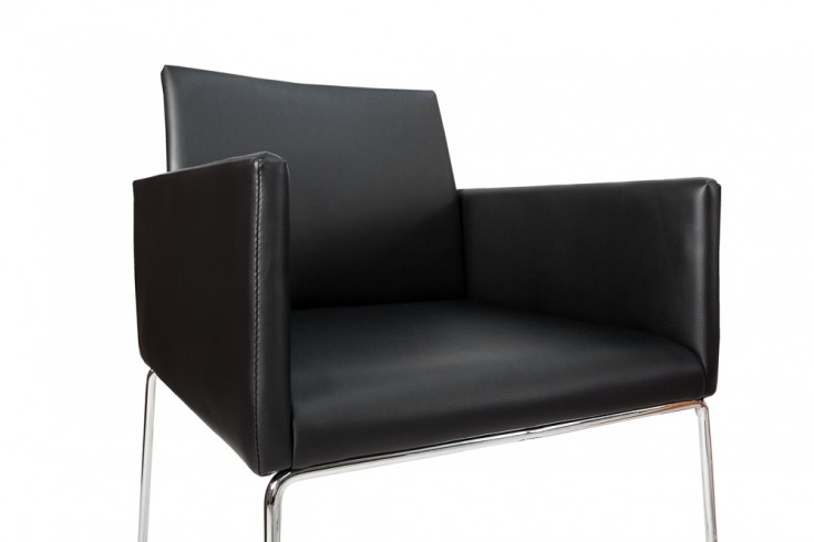 Eleganter design stuhl livorno schwarz anthrazit for Eleganter design stuhl livorno strukturstoff grau