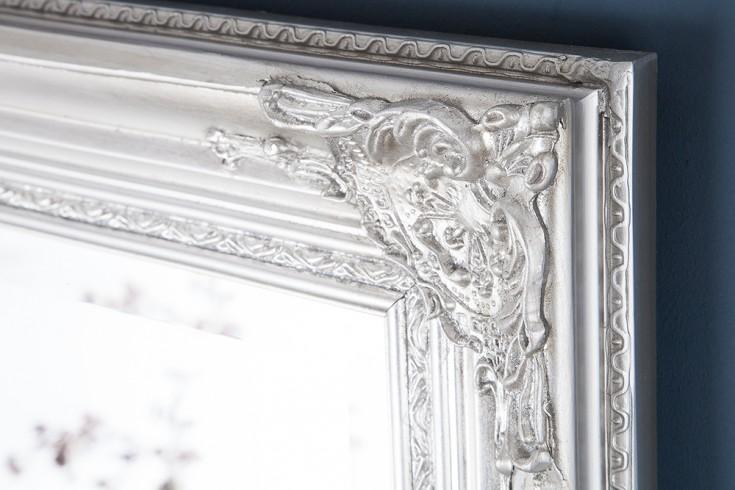 gro er barock spiegel renaissance silber 185x75cm wandspiegel riess. Black Bedroom Furniture Sets. Home Design Ideas