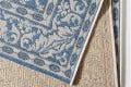 Eleganter In- & Outdoorteppich LOTUS Royal 160x230 cm blau Lotus Summer Collection