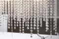 Designer Hängeleuchte BRILLARE mit Strasssteinen Prismen