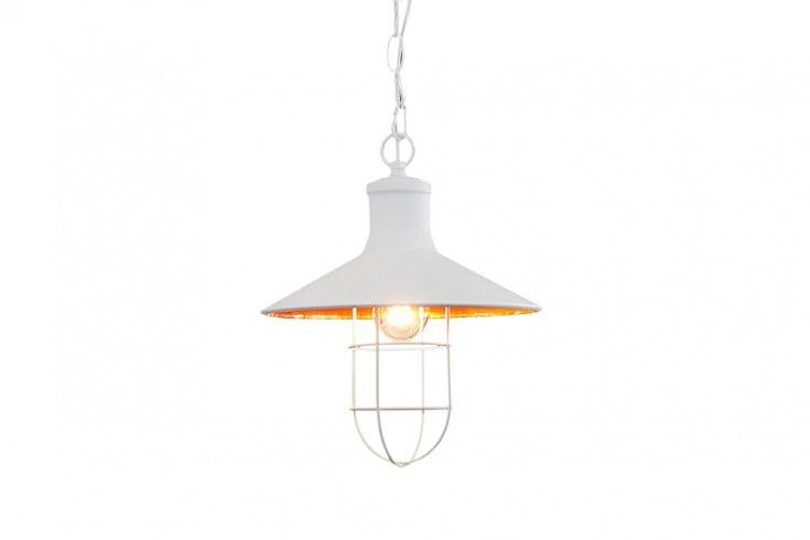 design h ngelampe ceiling lamp 30 cm wei industrielampe designklassiker riess. Black Bedroom Furniture Sets. Home Design Ideas