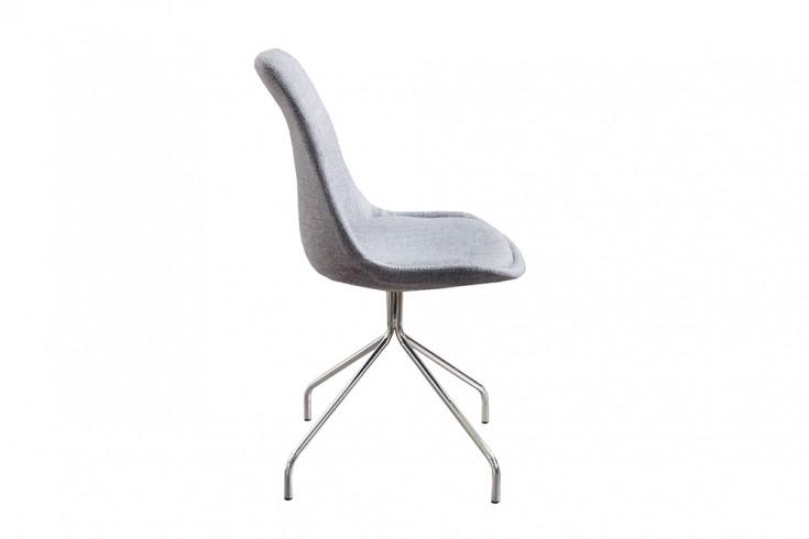 Zeitloser Design Stuhl Spider Grau Mit Hochwertig
