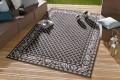 Eleganter In- & Outdoorteppich LOTUS Royal 160x230cm schwarz Lotus Summer Collection