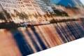 Hochwertiges Bild HAMBURG BINNENALSTER 50x70cm Kunstdruck auf Glas