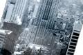 Eindrucksvoller Kunstdruck EMPIRE STATE BUILDING 160x70cm Wandbild aus Glas New York