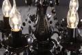 Kronleuchter KARAT S 5-armig schwarz