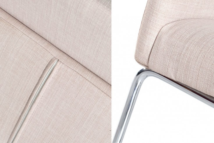 Eleganter design stuhl livorno strukturstoff beige for Eleganter design stuhl livorno strukturstoff grau