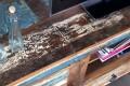TV-Board JAKARTA 150cm recyceltes Massiv Holz Unikat