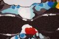 Hochwertiges handgemaltes Ölgemälde POP ART BIG BOSS Bild auf Keilrahmen und Canvas Leinengewebe 50x50 cm Hund
