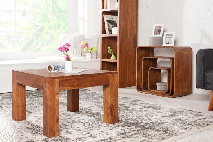 couchtisch aus akazie monsoon 60cm markant finish gemasert. Black Bedroom Furniture Sets. Home Design Ideas