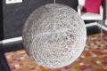 Stylische Hängeleuchte COCOON L in weiss 45cm Lampe