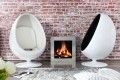 Design Lounge Sessel Sitzei SPACE EGG weiss total