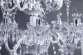Riesiger Pompöser Kronleuchter Karat 30-Armig Klar