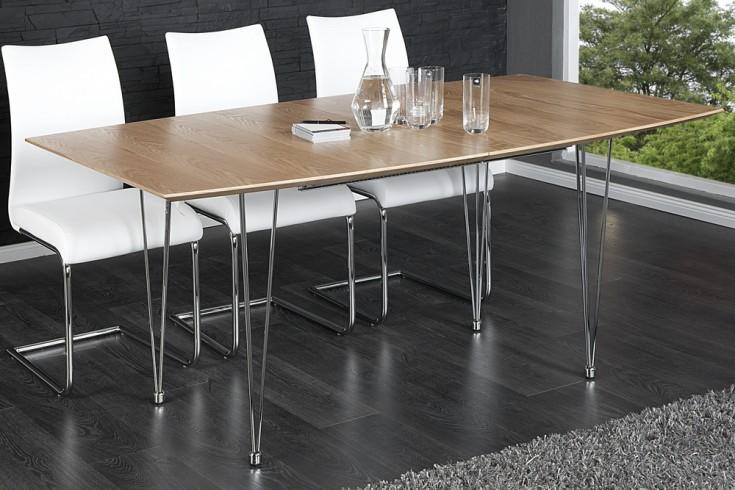 moderner esstisch continental eiche konferenztisch 270cm. Black Bedroom Furniture Sets. Home Design Ideas
