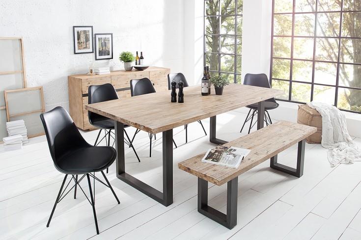 massiver esstisch wotan akazie 200cm massivholz tisch. Black Bedroom Furniture Sets. Home Design Ideas