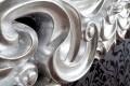 Riesiger Barock Spiegel VENICE silber antik 90x180cm