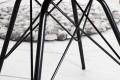 Retro Stuhl SCANDINAVIA MEISTERSTÜCK schwarz Designklassiker skandinavischer Wohnstil