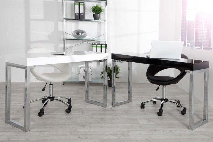 Design laptoptisch 120x40cm hochglanz schwarz b rotisch for Design laptoptisch