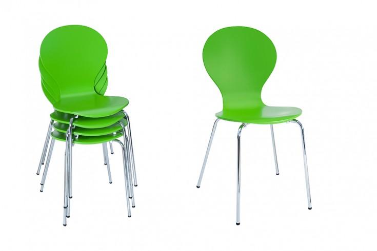 4er set stuhl form designklassiker aus hochwertigem for Design stuhl form