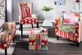 Design Patchwork Clubsessel mehrfarbig Sessel