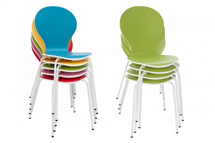 Design stuhl form bicolor sonderedition designklassiker for Design stuhl form