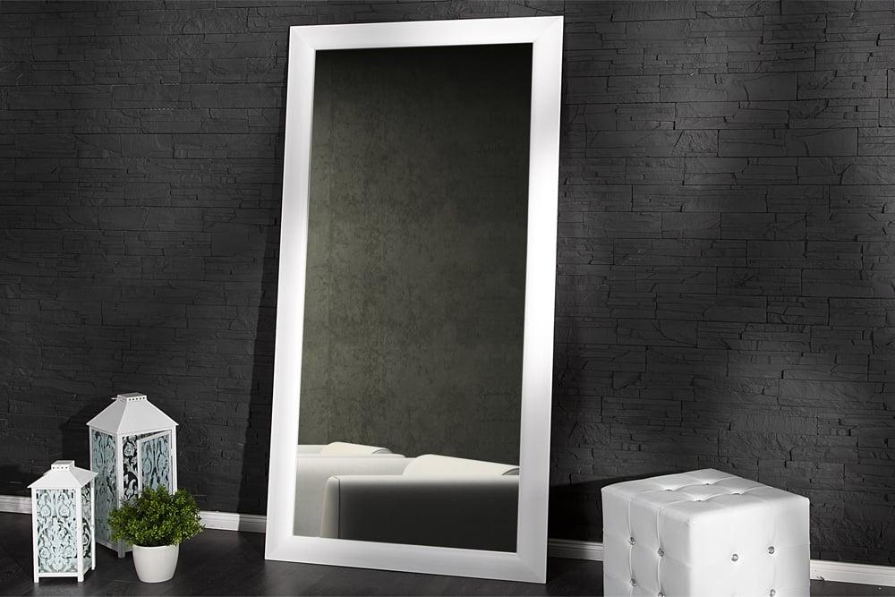 gro er design spiegel espejo wei matt 180x85 cm wandspiegel standspiegel riess. Black Bedroom Furniture Sets. Home Design Ideas