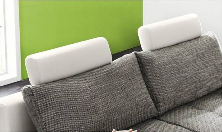 design sofa kopfst zten wei riess. Black Bedroom Furniture Sets. Home Design Ideas