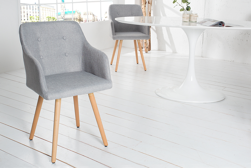 Exklusiver Design Stuhl Scandinavia Meisterst Ck Buche