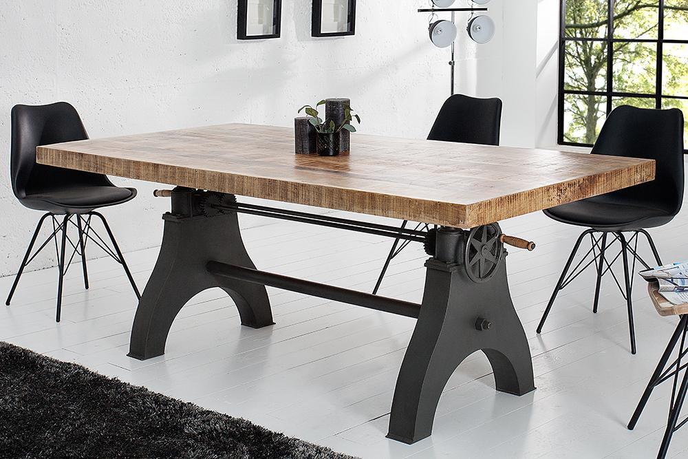 massiver esstisch engineer eisen massivholzkomposition. Black Bedroom Furniture Sets. Home Design Ideas