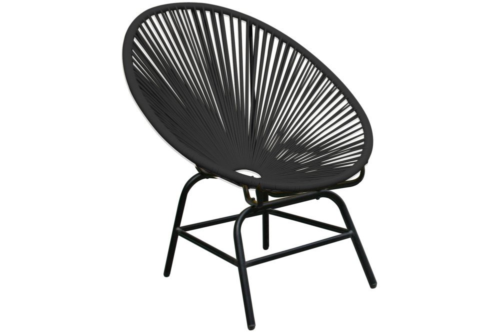 designklassiker acapulco chair anthrazit garten pool indoor stuhl riess. Black Bedroom Furniture Sets. Home Design Ideas