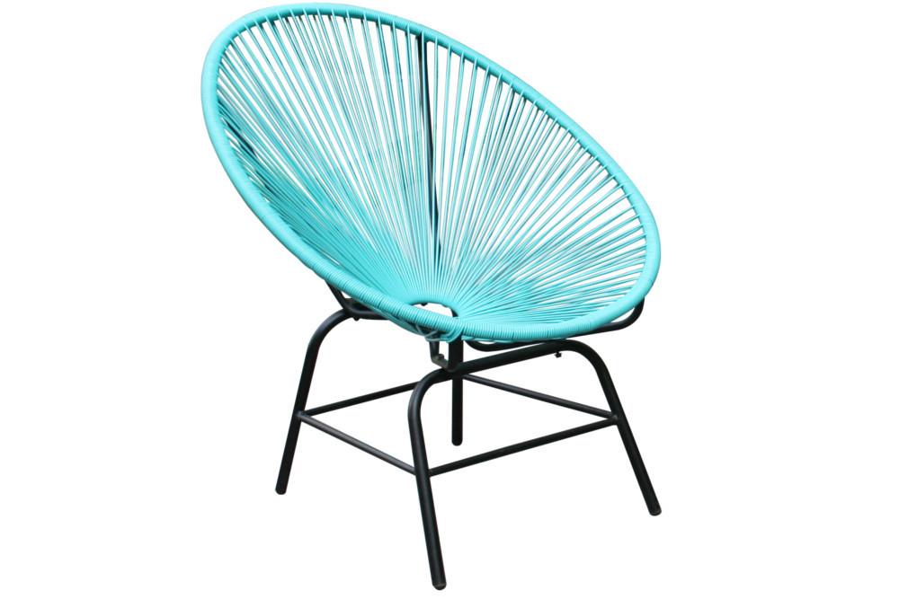 Designklassiker acapulco chair t rkis garten pool indoor for Designklassiker stuhl