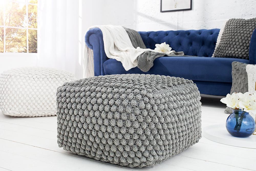 Exklusiver Design Couchtisch MULTILEVEL weiß grau Hochglanz drehbar ...