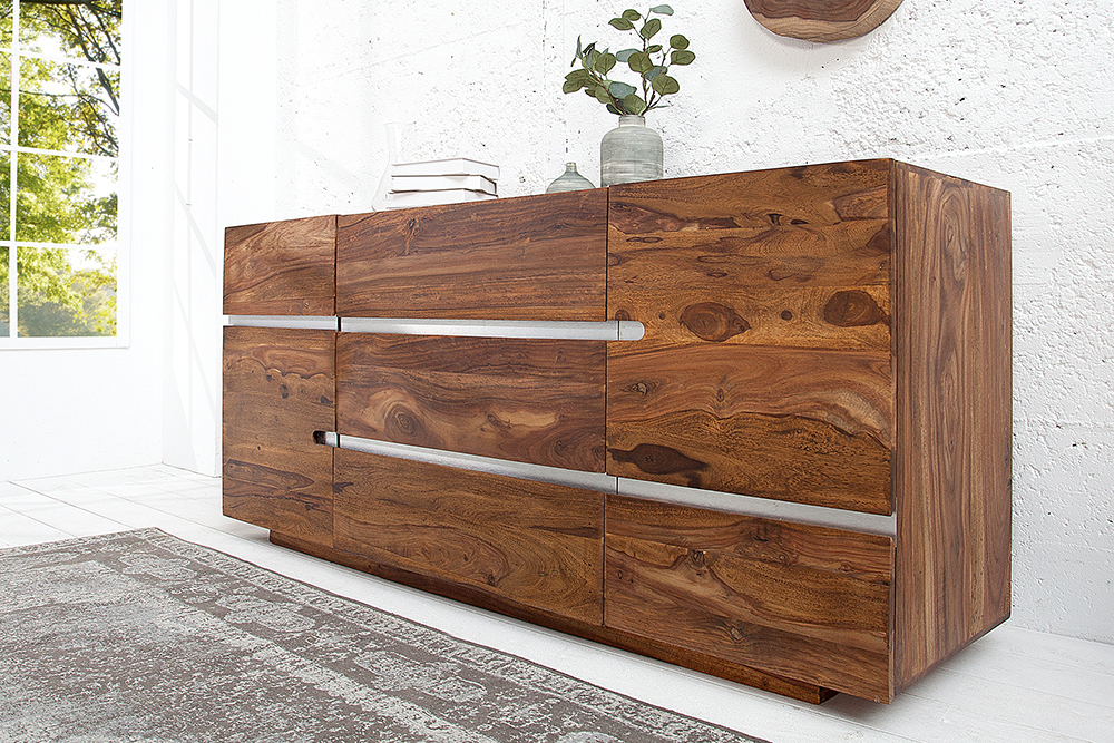 anrichte holz schubladen sideboard cramos im loft design holz massiv abgerundet with anrichte. Black Bedroom Furniture Sets. Home Design Ideas