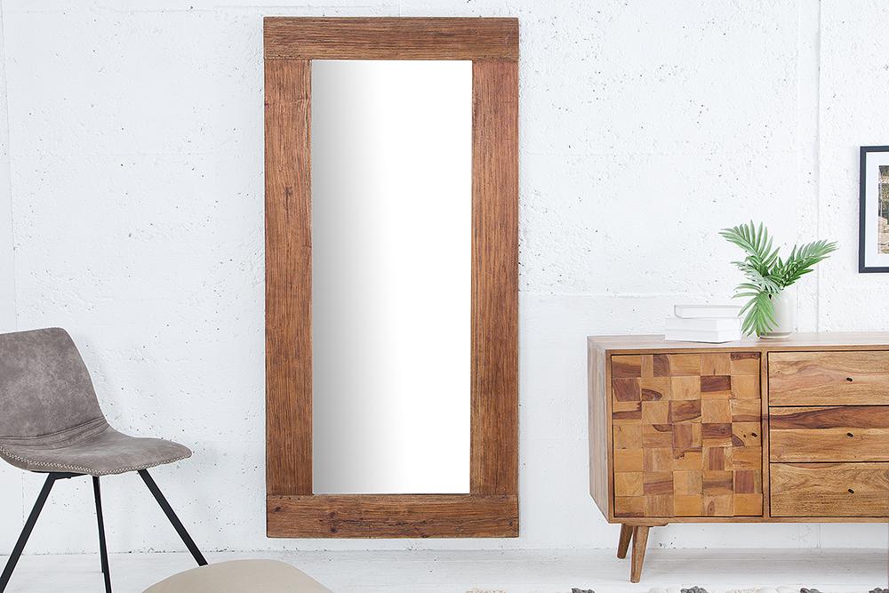 Massiver spiegel hemingway cm aus recyceltem teakholz