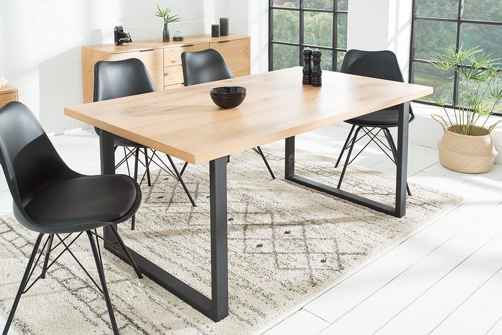 design esstisch canadian wild oak 160cm eiche riess. Black Bedroom Furniture Sets. Home Design Ideas