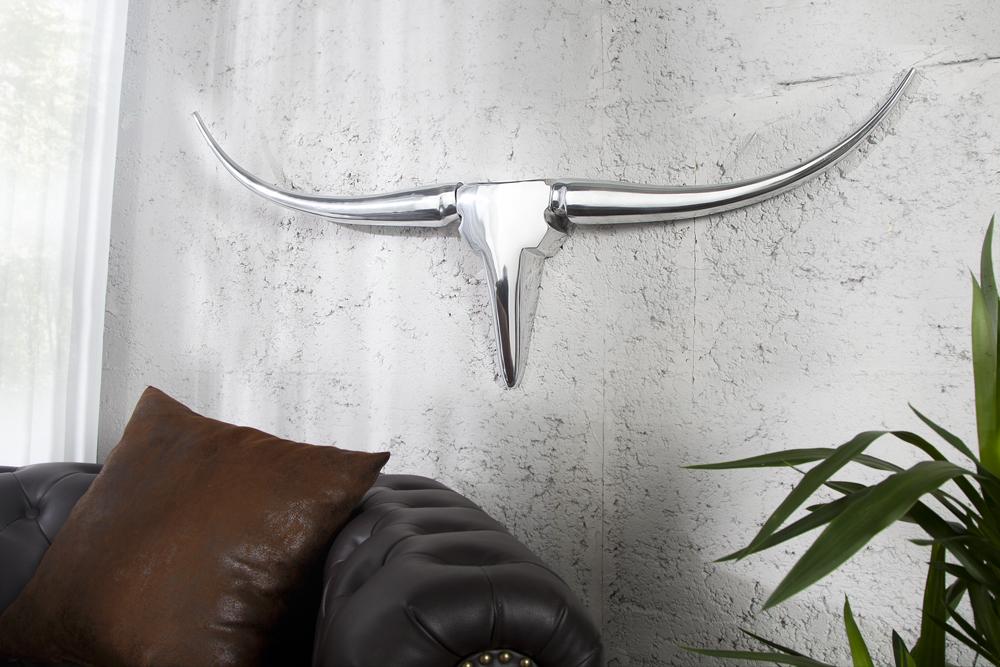 Design accessoire wanddekoration metall aluminium for Wanddekoration metall