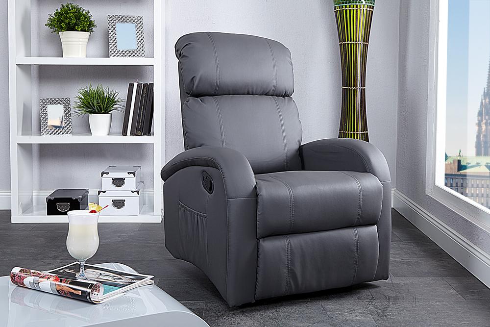 Relaxsessel Mit Liegefunktion Design ~ Pics Photos  Relaxsessel Cosy Grau Mit Liegefunktion Sessel